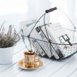 Panier et tasse décoration FabriQémoi