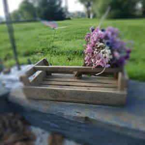 Caisse à pomme de terre en bois ancienne de FabriQémoi