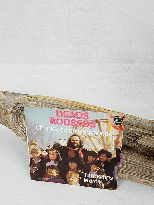 Vinyles 45 tours Démis Roussos FabriQémoi